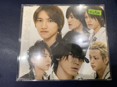 *還有唱片行*KAT-TUN / DON'T YOU OVER STOP 二手 Y12924 (49起拍)