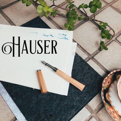 =小品雅集= 德國 Hauser 經典...