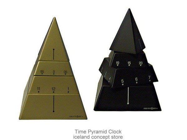 iceland ~ 造型時鐘Time Pyramid 埃及金字塔時鐘照片 (賠錢賣NT800,買到賺到)
