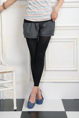 (F13) ILITIA  300Den 健康九分 褲襪 (透明袋裝)  黑