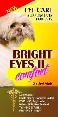 Bright Eyes || 寵物 睛亮 晴亮 滴劑 5ml*2瓶