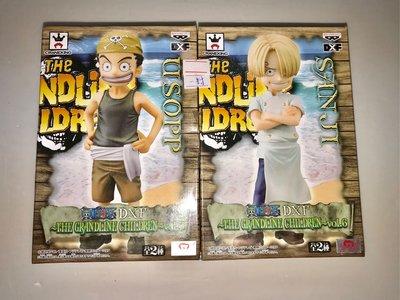 海賊王 One Piece The Grandline Children Vol.6 山治 烏索普 景品 Figure Banpresto 全新 不散賣