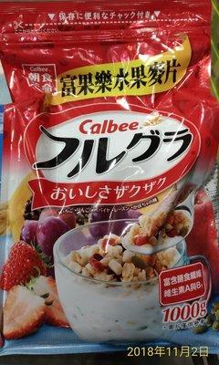 !costco代購 #216971 CALBEE 卡樂比 富果樂 水果早餐麥片 1公斤*