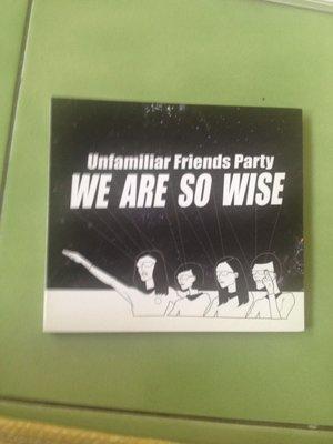 (標即結)Unfamiliar Friends Party不熟的朋友派對-We Are So Wise我們好聰明