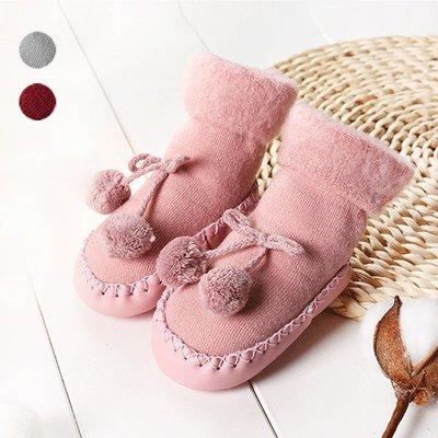 【可愛村】保暖加絨中筒寶寶學步鞋 寶寶鞋 嬰兒鞋