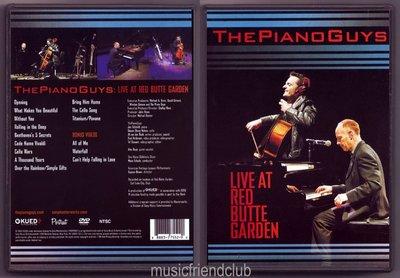 音樂居士#鋼琴伙計 The Piano Guys Live At Red Butte Garden () DVD