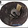 【野戰搖滾-生存遊戲】EMERSON 戰術圓邊帽、奔尼帽【Multicam Black】黑色多地形迷彩闊邊帽圓盤帽漁夫