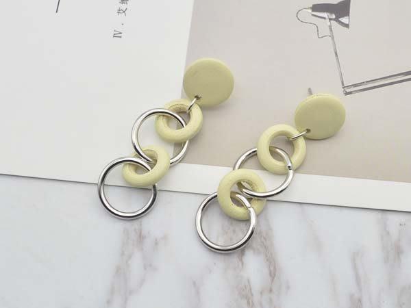 【寶寶王國】韓國造型銀針耳環 (商品編號  322-2250  )
