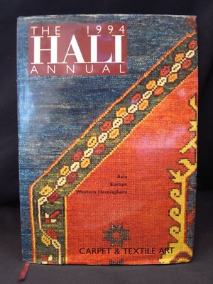 *阿威的舊書香*【絕版特價 THE 1994 HALI ANNUAL CARPET TEXTILE ART】