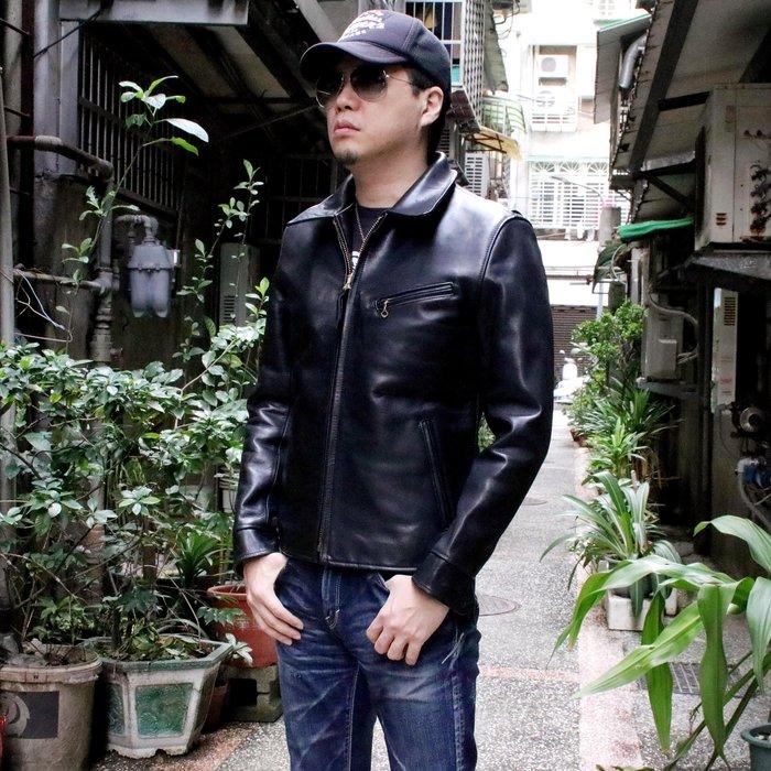 【Silver Monsters】日本Y'2 Leather 重磅馬皮 經典翻領騎士皮衣 夾克