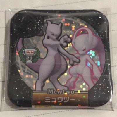 [勁敵珍藏彈]Z4 黑卡 cc23 超夢 y 史上最強超夢 神奇寶貝 Pokémon Tretta 卡匣 非獎盃 紫閃P卡
