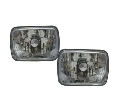 0331卡嗶車燈 Chevy 雪佛蘭 C1500  1988-1999 兩/四門車 晶鑽款 大燈 電鍍