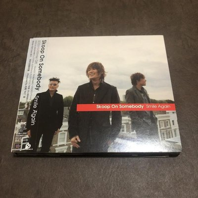 二手 CD & DVD Skoop On Somebody 特種情人 Smile Again 日版 單曲 有側標 E箱