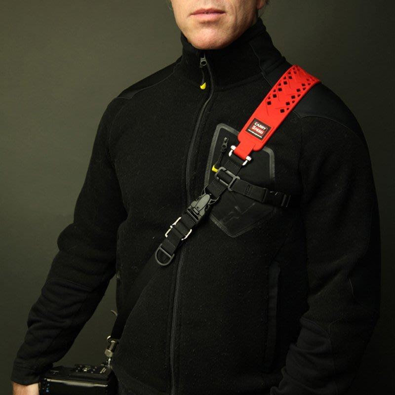 ◎相機專家◎ CARRY SPEED 速必達 Prime Extreme 單肩快取減壓背帶 黑色/紅色 最新款 公司貨