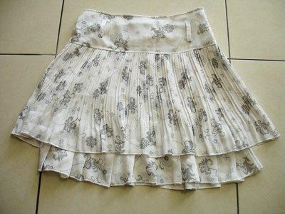 短裙雙層短裙--九成新-2