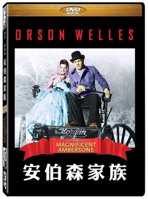 合友唱片 面交 自取 安伯森家族 DVD The Magnificent Ambersons