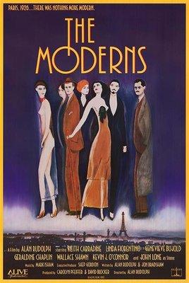 輝煌時代 ( The Moderns ) - 尊龍 - 美國原版電影海報 (1988年)