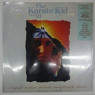 合友唱片 電影「小子難纏」原聲帶 (1989) 黑膠唱片 LP 面交 自取