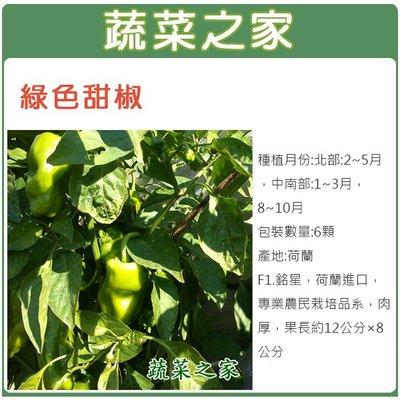 【蔬菜之家】G01.綠色甜椒種子6顆(...