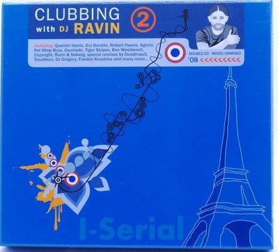 雙CD浩室電子舞曲/ CLUBBING 2 with DJ RAVIN / 佛之吧電音DJ個人作品/精裝紙盒版