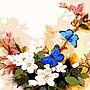 八號倉庫 DIY手繪風景人物花卉數字油畫 40x50【1T112X670】176下標區