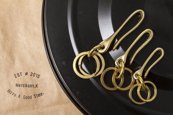 黑羊選物 /黃銅 鑰匙圈 鑰匙扣 U型配環 純銅 老味 復古 重機 哈雷 養牛必備 三種尺寸
