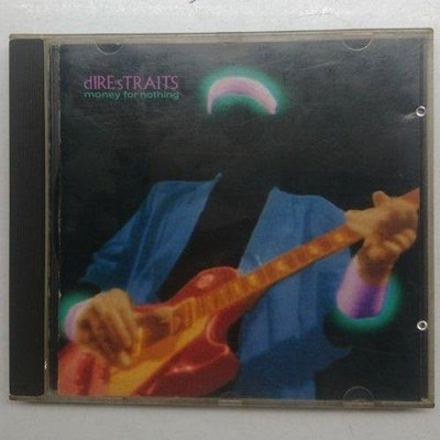 德國銀圈版 英國險峻海峽合唱團(Dire Straits)(MONEY FOR NOTHING) PRINTED IN WEST GERMANY 1988年發行