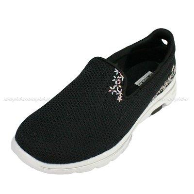 (AY) SKECHERS 女鞋 GOWALK 5 健走鞋 運動鞋 耐走 出國首選 15945BKW 黑 [迦勒]