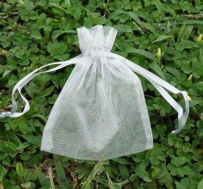 素色雪紗袋【6*9】喜糖袋˙束口袋˙雪紗袋˙糖果袋˙小福袋。一包 10 只 @ 10 元