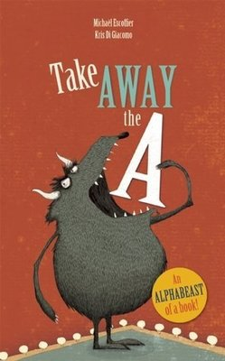 *小P書樂園* Take Away the A 有趣創意英文字母書