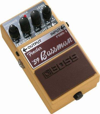 ☆ 唐尼樂器︵☆全新 Boss FBM-1 Fender