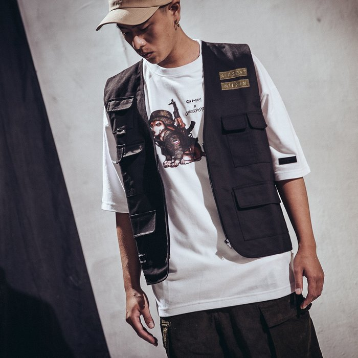 GHK 18 S/S AIRSOFT TACTICAL VEST 黑色