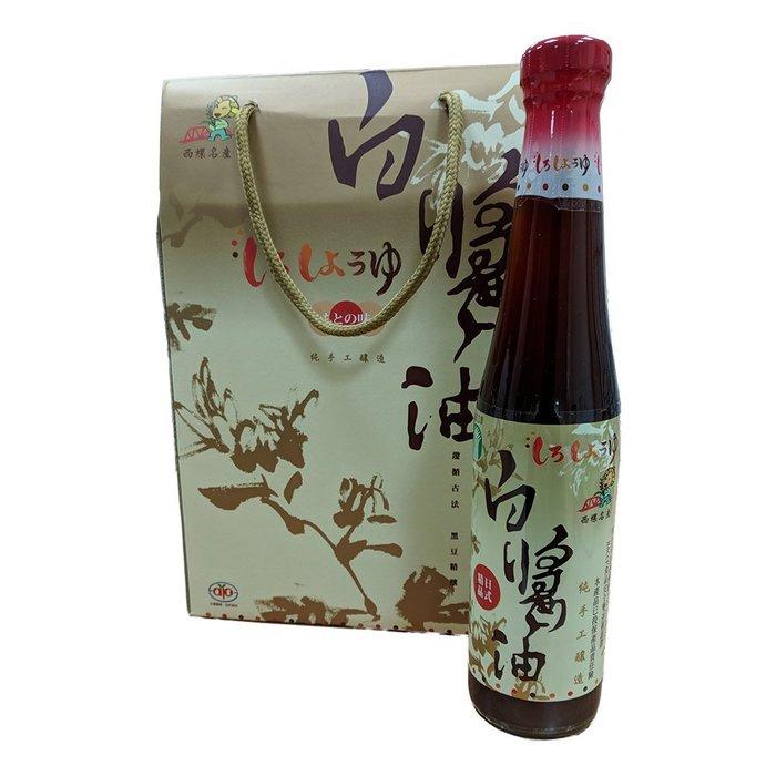 金德恩 台灣製造 日式白醬油禮盒 二組12瓶 (400ML/瓶)