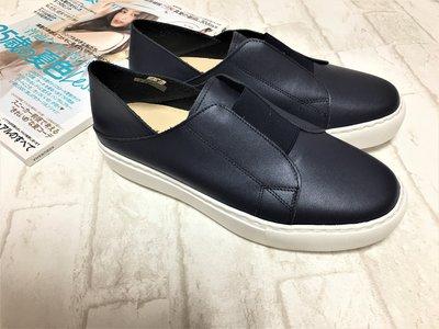 現貨出清~台灣手工製 真牛皮兩穿超輕量休閒鞋–藍色 6594-2   米蘭風情