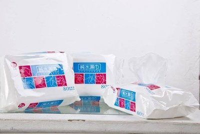 台農純水濕紙巾超厚80抽36包$1550元,先匯款免運費  台灣製