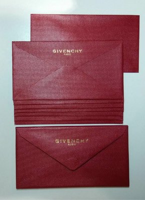 GIVENCHY 利是封 10 個1pack  $498