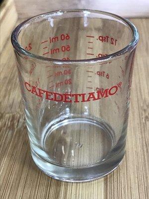 ~附發票~【城市咖啡廣場】TIAMO 玻璃量杯 2oz 60cc  AC0012