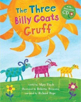 *小貝比的家*THREE BILLY GOATS GRUFF/平裝書+CD/3~6歲/傳統故事