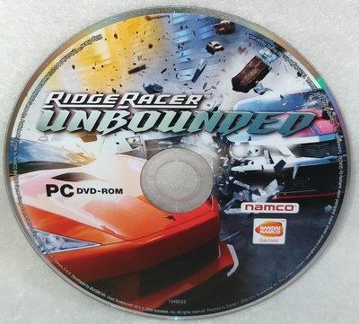 1.【電玩絕版】PC GAME: 實感賽車:無限 Ridge racer Unbounded