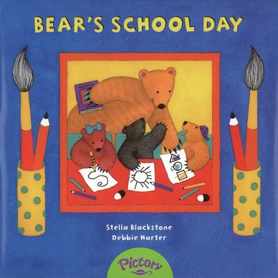 *小貝比的家*BEAR'S SCHOOL DAY/單CD/7~12歲