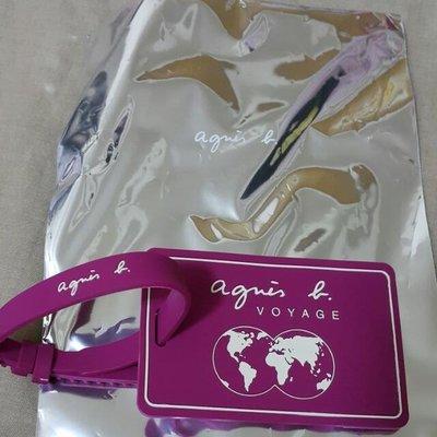 agnes b行李吊牌 全新 專櫃 正品 直購 日本 in jp