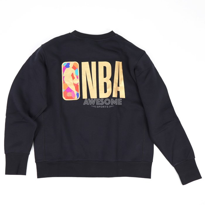 [歐鉉]NIKE NBA CNY 黑色 新年限定 刺繡LOGO 刷毛 大學T 長T 運動長袖 男生 DH0627-010
