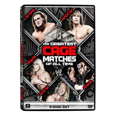 ☆阿Su倉庫☆WWE摔角 WWE Greatest Cage Matches of All Time DVD 最偉大的鐵籠賽事特輯 熱賣中