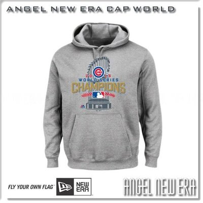 【ANGEL NEW ERA】MLB 芝加哥 Chicago 小熊 CUBS 冠軍 108年紀念 champion 帽T