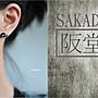 925純銀耳環-阪堂SAKADO-軟陶+純銀系列--小虎鯨