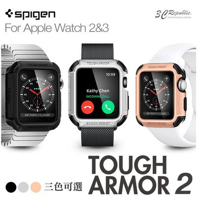 SGP Apple Watch 1 2 3 代 42mm Tough Armor2 運動型 防刮 防摔 防撞 保護殼