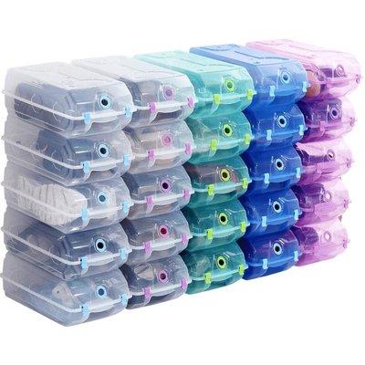 鞋盒 加厚大號水晶鞋盒透明鞋盒鞋子整理收納盒塑膠鞋盒子10只裝 ATF 8%百分吧