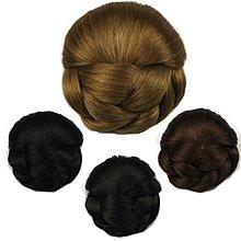 高溫絲 女王頭 丸子頭 新娘 髮包 髮髻 髮型 美髮 造型 假髮 - DH102