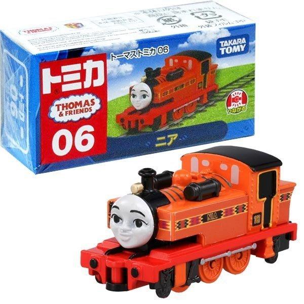 日本帶回 TOMICA THOMAS 湯瑪士06 連結火車~小太陽日本精品
