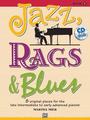 【599免運費】Jazz, Rags & Blues,【書+1CD】Book 5  Alfred 00-36733